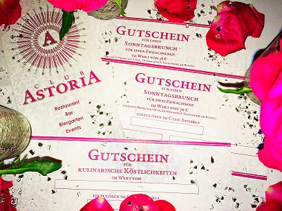 Gutscheine Club Astoria