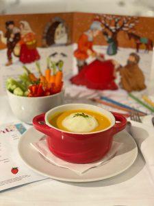 Knabber Teller, Tagesaktuelle Suppe